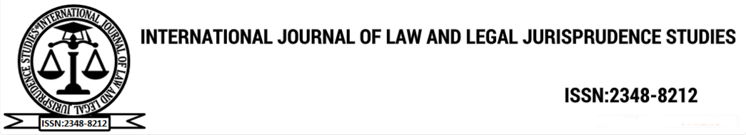 International Journal of Law and Legal Jurisprudence Studies